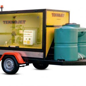 جت ماشین آبسرد 600 بار دیزل - teknojet 30-litr
